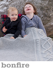 Bonfire Blanket by Tin Can Knits