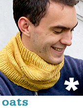 Oats Cowl by Tin Can Knits