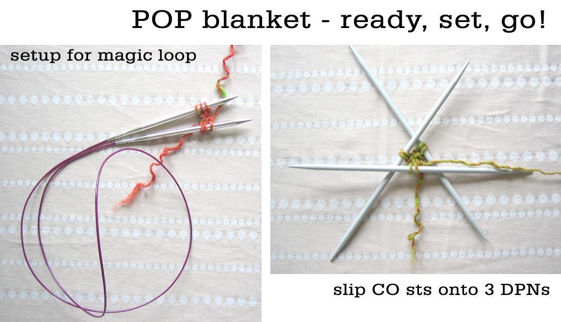 POP blanket - starting out